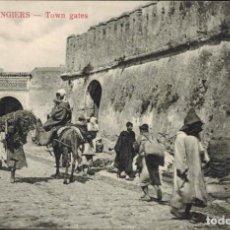 Postales: TANGER, MARRUECOS. Nº 18, PUERTAS DE LA CIUDAD. Lote 211975166