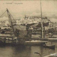 Postales: TANGER, MARRUECOS. Nº 4, VISTA GENERAL. IMP. REUNIERES DE NANCY. CIRCULADA 1912. Lote 211976333