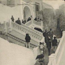 Postales: TANGER, MARRUECOS. Nº 26, NUEVA RAMPA DE ACCESO. FOTO TADILEI. CIRCULADA 1915. Lote 211976850