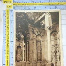 Postales: POSTAL DE TÚNEZ TUNISIE TUNIS. AÑOS 10 30. LE BELVEDERE LA MIDA. 73. Lote 213484533