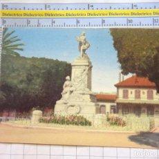Postales: POSTAL DE TÚNEZ TUNISIE TUNIS. AÑOS 30 50. ESTACIÓN FFCC Y MONUMENTO PH THOMAS. 83. Lote 213485526