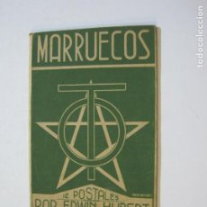 Postais: MARRUECOS-CUBIERTAS DEL BLOC DE POSTALES-ERWIN HUBERT-TETUAN-VER FOTOS-(K-10). Lote 216380527