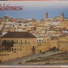 Postales: POSTAL N°30 PANORÁMICA DE MEKNES MARRUECOS. Lote 218676216