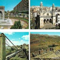 Postales: COLECCION DE 21 POSTALES DE ALGERIA NUEVAS. Lote 219235862