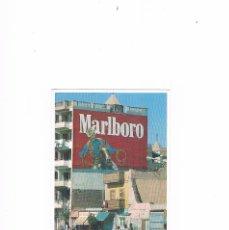 Postales: POSTAL ANTIGUA RUE DE LUXOR HAUTE EGIPTO PUBLICIDAD MARLBORO. Lote 219976188