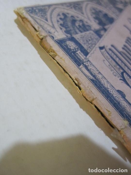 Postales: EGIPTO-ALBUM DE SUEZ-BLOC CON 12 DIBUJOS TAMAÑO POSTAL-VER FOTOS-(74.786) - Foto 2 - 221289007