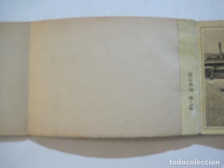 Postales: EGIPTO-ALBUM DE SUEZ-BLOC CON 12 DIBUJOS TAMAÑO POSTAL-VER FOTOS-(74.786) - Foto 10 - 221289007