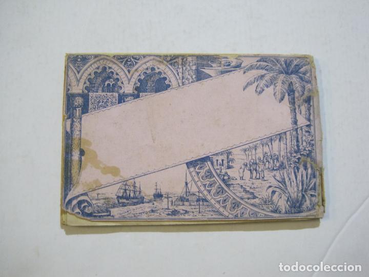 Postales: EGIPTO-ALBUM DE SUEZ-BLOC CON 12 DIBUJOS TAMAÑO POSTAL-VER FOTOS-(74.786) - Foto 13 - 221289007