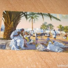 Cartes Postales: POSTAL DE MARCHA ARABE. Lote 221648327