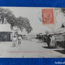 Postales: T-367.- POSTAL DE -- MADAGASCAR -- AMBATO .- UNE RUE .- COLONIES FRANCAISES. Lote 221925252
