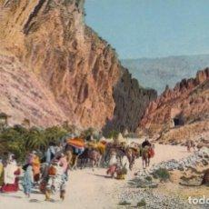 Postales: POSTAL SCENES & TYPES D'AFRIQUE DU NORD - LES GORGES D'EL KANTARA. Lote 222339992