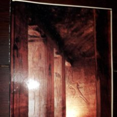 Postales: Nº 50693 POSTAL EGIPTO ABU SIMBEL THE GREAT HYPOSTYLE HALL. Lote 226411690