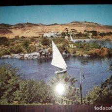 Postales: Nº 50698 POSTAL EGIPTO ASSWAN RIO NILO. Lote 226412340