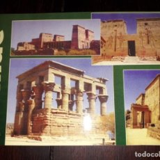 Postales: Nº 50700 POSTAL EGIPTO ASWAN GENERAL VIEWS OF PHILA. Lote 226412555