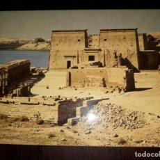 Postales: Nº 50701 POSTAL EGIPTO ASSWAN THE PHILAE TEMPLE. Lote 226412690