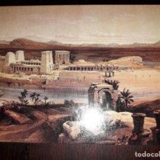Postales: Nº 50705 POSTAL EGIPTO GENERAL VIEW OF TEMPLE OF PHILAE. Lote 226413165