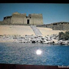 Postales: Nº 50706 POSTAL EGIPTO ASWAN KALABSHA TEMPLE AN LAKE NASSER. Lote 226413255