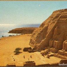 Postales: POSTAL EGIPTO - ABOU SIMBEL TEMPLO DE RAMSES. Lote 227633975