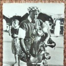 Postales: MARRUECOS - SCENES ET TYPES - MARCHANTE DE AGUA. Lote 231318060