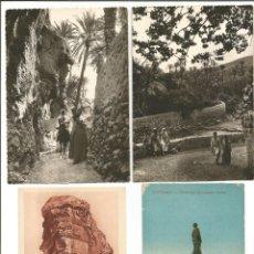 Postales: LOTE 13 POSTALES - MARRUECOS, ARGELIA, EGIPTO, TÚNEZ - SIN CIRCULAR. Lote 235689640
