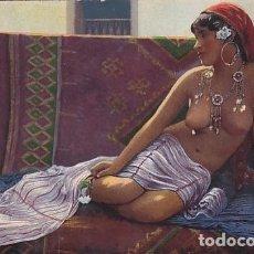 Postales: DESNUDO FEMENINO MARRUECOS. BELLEZA DEL HAREM 45 SIN CIRCULAR.. Lote 235993530