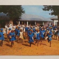 Postales: NIGERIA - ESCUELA DE NIÑAS DE SAMARU - P46365. Lote 241148400