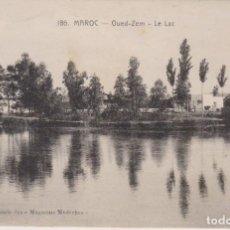 Postales: MARRUECOS OUED ZEM EL LAGO F POSTAL NO CIRCULADA. Lote 242451845