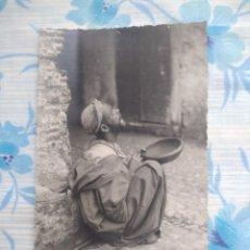 Postales: ANTIGUA POSTAL FOTOGRAFIA, TETUAN EL MENDIGO, FOTO FRANCISCO RUBIO. Lote 244671900