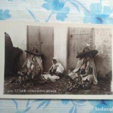Postales: POSTAL FOTOGRAFIA N 64 TETUAN , VENDEDORAS MORAS. Lote 244679530