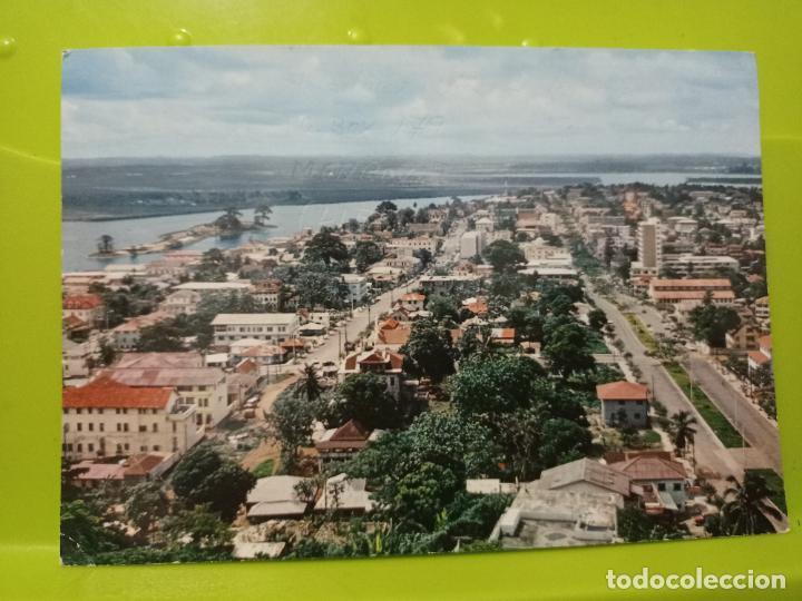 MONROVIA LIBERIA BROAD STREET ASHMUN ESCRITA AÑOS 60 (Postales - Postales Extranjero - África)