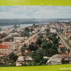 Postales: MONROVIA LIBERIA BROAD STREET ASHMUN ESCRITA AÑOS 60. Lote 245490325