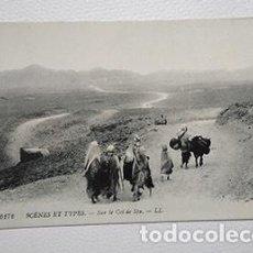 Postales: SUR LE COL DE SFA, ARGELIA. LEVY FILS & CIE, PARIS. 6172 SCENES ET TYPES. S/C. Lote 253021750