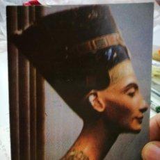 Postales: POSTAL EGIPTO THE FAMOUS BUST OF NEFERTITI WIFE OF KING AKHNATON S/C. Lote 253893375