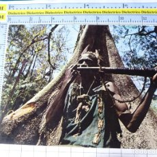 Postales: POSTAL DE ÁFRICA SUBSAHARIANA. ESCENA VIVA ÉTNICA TIPISMO. MÚSICO TOCANDO CUERNO. 712. Lote 254288090