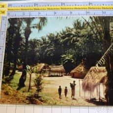 Postales: POSTAL DE ÁFRICA SUBSAHARIANA. FOLKLORE ESCENA VIVA ÉTNICA. VILLA AFRICANA. 3384. Lote 255651790
