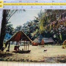 Postales: POSTAL DE ÁFRICA SUBSAHARIANA. FOLKLORE ESCENA VIVA ÉTNICA. VILLA AFRICANA. 3387. Lote 255651955