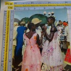 Postales: POSTAL DE ÁFRICA SUBSAHARIANA. FOLKLORE ESCENA VIVA ÉTNICA. MUJERES DE DAKAR. 3388. Lote 255652015