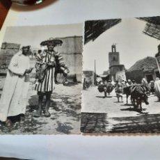 Postales: DOS POSTALES ANTIGUAS TÍPICAS DE MARRUECOS. Lote 257424330