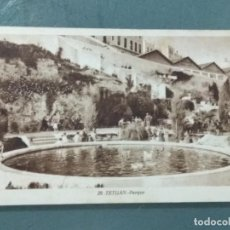 Postales: POSTAL 29 - TETUAN (MARRUECOS) - PARQUE.. Lote 260760405