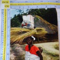 Postales: POSTAL DE ÁFRICA SUBSAHARIANA. ESCENA VIVA TIPISMO FOLKLORE ÉTNICA. MUJER MADRE BEBE SENEGAL. 821. Lote 261964785