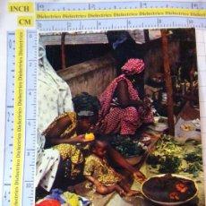 Postales: POSTAL DE ÁFRICA SUBSAHARIANA. ESCENA VIVA TIPISMO FOLKLORE ÉTNICA. MUJER MADRE BEBE SENEGAL. 822. Lote 261964820