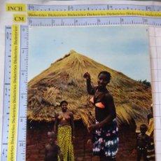 Postales: POSTAL DE ÁFRICA SUBSAHARIANA. ESCENA VIVA TIPISMO FOLKLORE ÉTNICA. SENEGAL MUJERES NIÑOS. 838. Lote 261966055