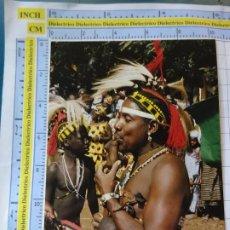 Postales: POSTAL DE ÁFRICA SUBSAHARIANA. ESCENA VIVA TIPISMO FOLKLORE ÉTNICA. MÚSICO FLAUTISTA BASSARI. 839. Lote 261966120