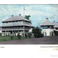 Cartes Postales: ANTIGUA POSTAL DE GHANA ÁFRICA AÑOS 1920-1930 '20-30 KUMASI FORT ACTUAL MUSEO DE LAS FUERZAS ARMADAS. Lote 265930643