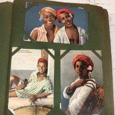 Postales: ALBUM CON CERCA DE 400 TARJETAS POSTALES Y FOTOGRAFIAS NORTE DE AFRICA. C. 1925. Lote 268806374