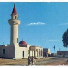Postais: LIBIA. TARHUNA. MEZQUITA. EDITADA EN LIBIA. CIRCULADA A RIETI, ITALIA, EN 1967.. Lote 269328423