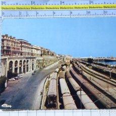 Postales: POSTAL DE ARGELIA. ALGER BOULEVARD ZIROUT YOUCEF. TRENES FERROCARRILES. 565. Lote 270377148