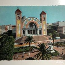 Postales: POSTAL ORÁN ARGELIA. LA CATEDRAL AÑOS 50 SC. Lote 270640423
