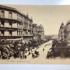Postales: POSTAL ANTIGUA. ORÁN, ARGELIA. CIRCA 1905. FOTOTIPIA. COCHES DE CABALLOS. Lote 270641233