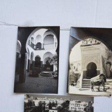 Postales: TETUAN ESPAÑOL LOTE DE 3 POSTALES FOTO GARCIA CORTES 386 - 653 - 154 ESCRITAS MARRUECOS LP18. Lote 276253818